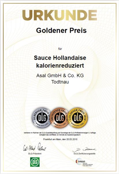 Goldener-Preis-DLG-Sauce-Hollandaise