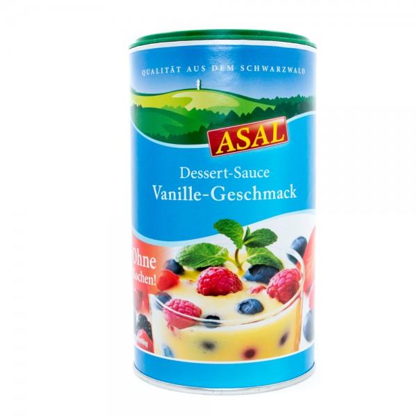 Dessert-Sauce Vanille-Geschmack