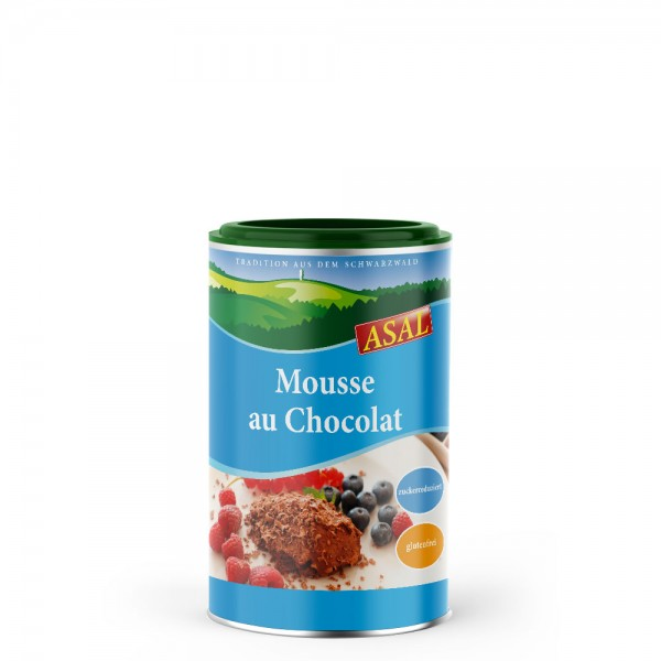 Mousse au Chocolat zuckerreduziert