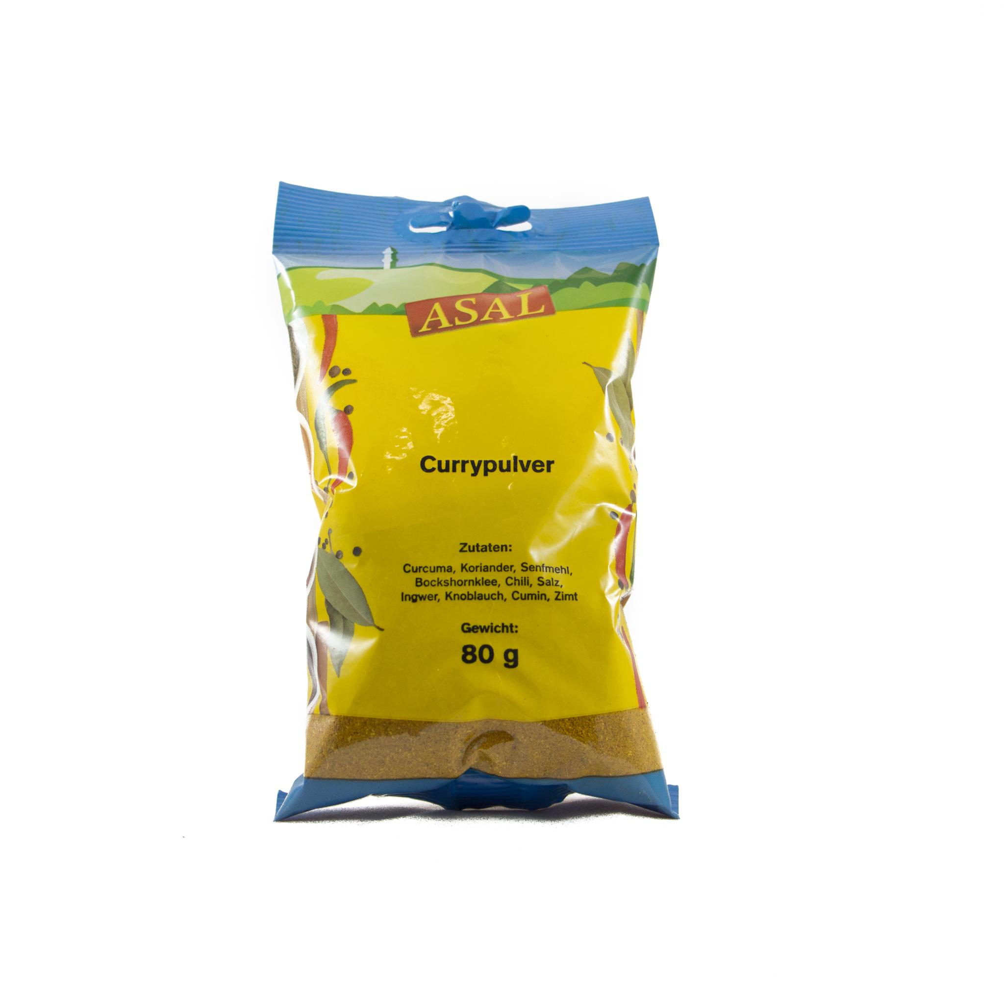 Currypulver Gesund